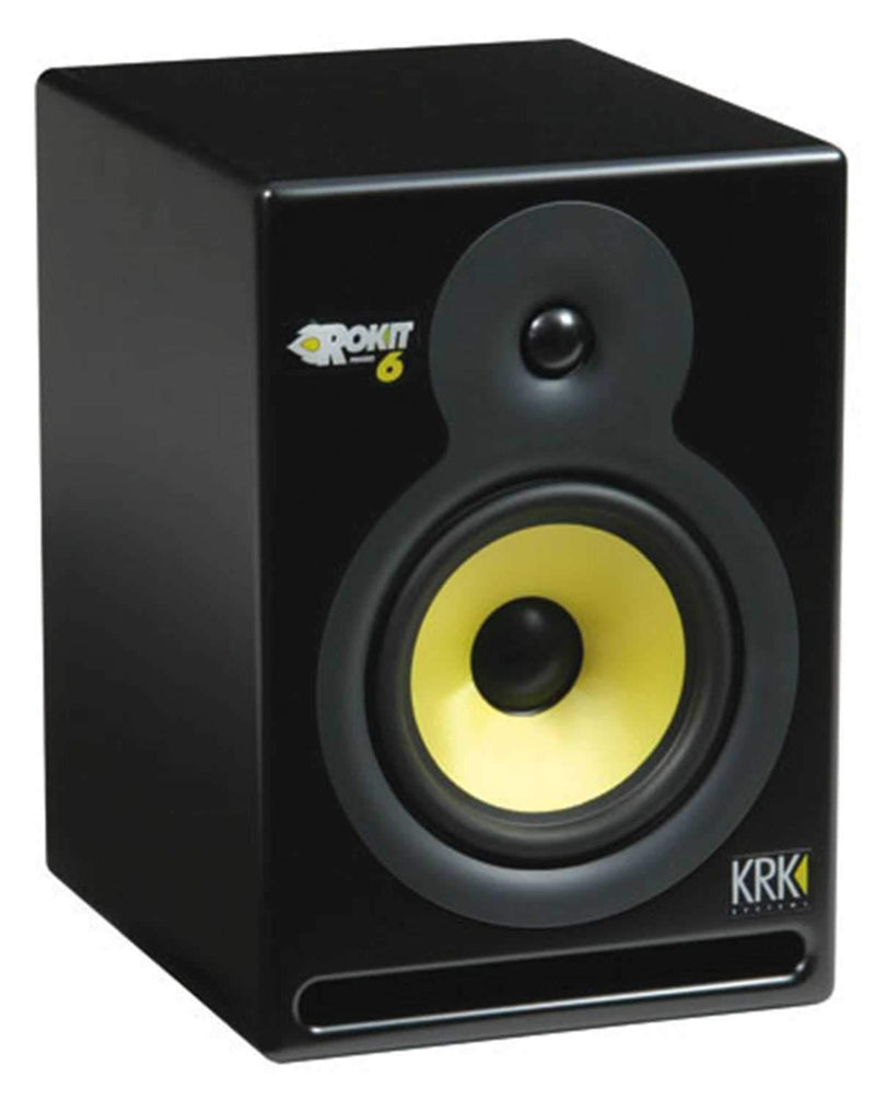 KRK RP6 Powered 6-Inch Studio Monitor (Each) - PSSL ProSound and Stage Lighting
