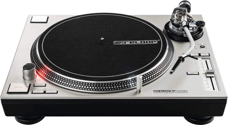 Reloop RP-7000-MK2 Direct Drive Turntable Silver - PSSL ProSound and Stage Lighting