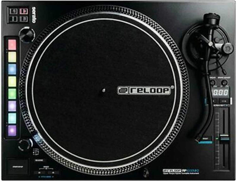 Reloop RP-8000 MK2 Direct Drive DJ Turntable for Serato - PSSL ProSound and Stage Lighting