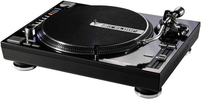 Reloop RP-8000 Advanced Hybrid Torque DJ Turntable - PSSL ProSound and Stage Lighting