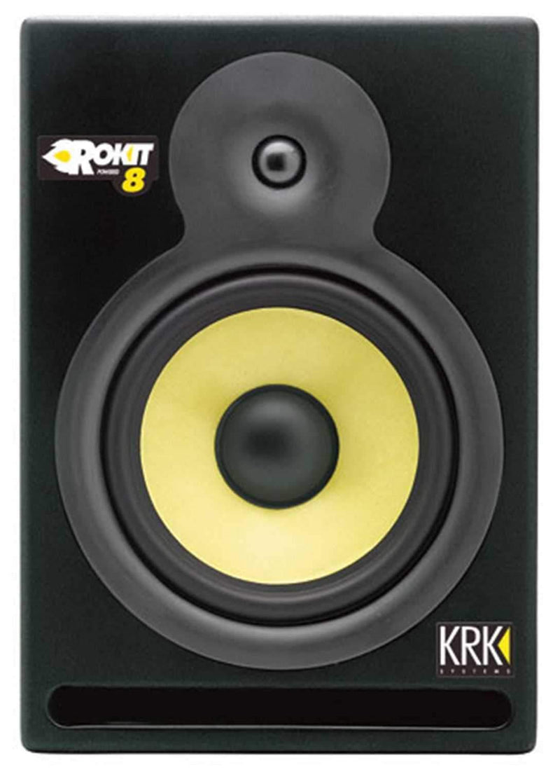 KRK RP8 Rockit 8 Inch Powered Monitor (Each) - PSSL ProSound and Stage Lighting