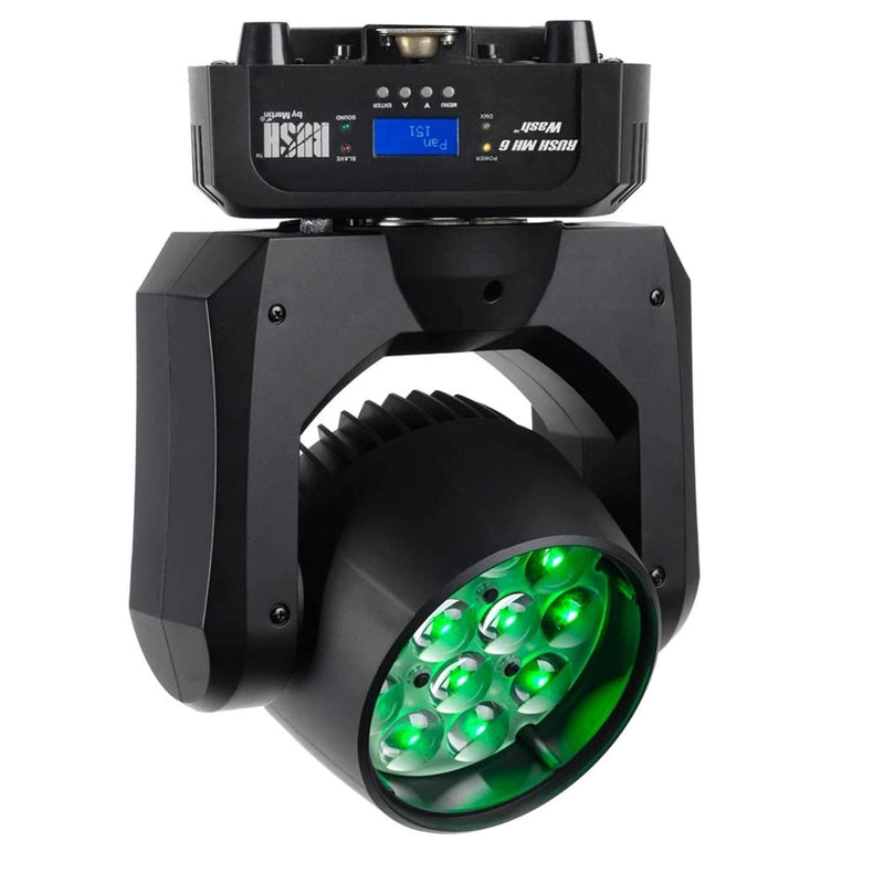 Martin RUSH MH 6 Wash CT 12x10-Watt LED Moving Head Light - PSSL ProSound and Stage Lighting
