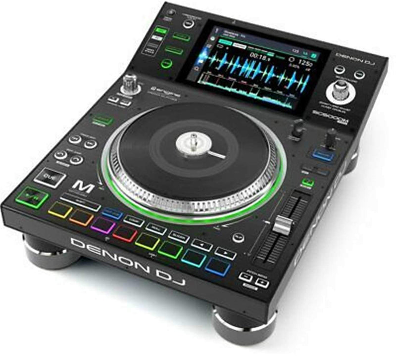Denon SC5000M Prime Tabletop DJ Media Player with Motorized Platter - PSSL ProSound and Stage Lighting