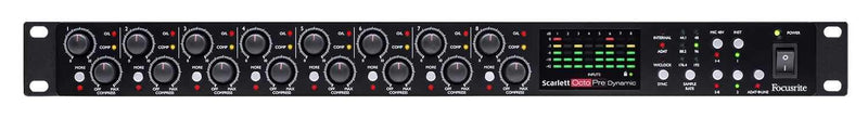 Focusrite Scarlett OctoPre Dynamic Mic Preamp & Converter - PSSL ProSound and Stage Lighting