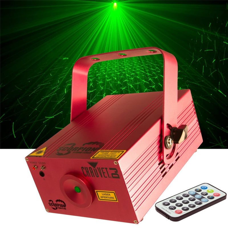 Chauvet Scorpion Storm FX RGB Laser Beam Effect Light - PSSL ProSound and Stage Lighting