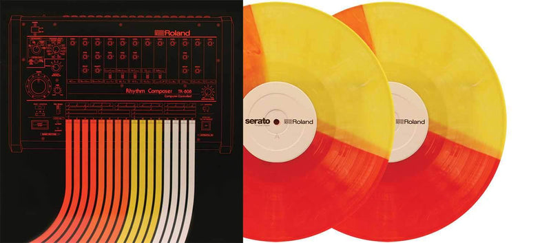 Serato X Roland 808 12-inch Limited Edition Control Vinyl Pair - PSSL ProSound and Stage Lighting