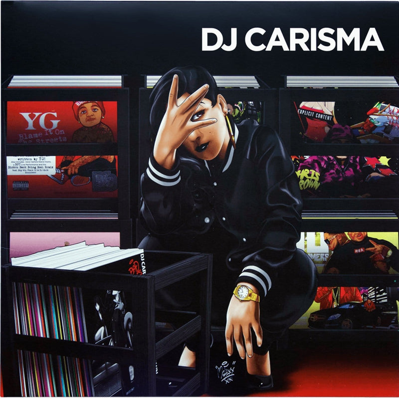 Serato DJ Carisma x Serato 2x12In Control Vinyl - PSSL ProSound and Stage Lighting