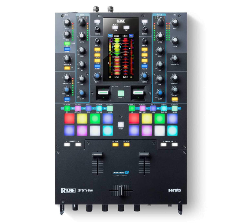 Rane Seventy Two 2-Deck Performance DJ Mixer with Touch Screen - PSSL ProSound and Stage Lighting