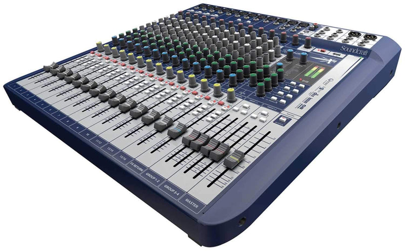 Soundcraft Signature 16 16-ch PA Mixer with FX - PSSL ProSound and Stage Lighting