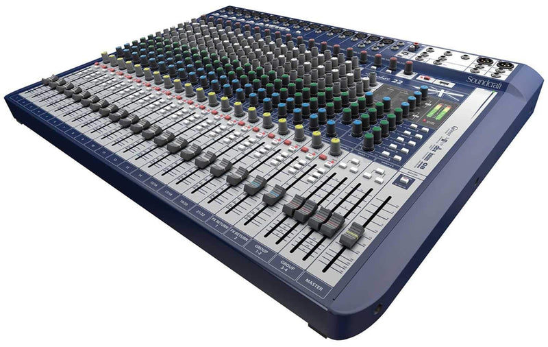 Soundcraft Signature 22 22-Input Analog Mixer with FX - PSSL ProSound and Stage Lighting