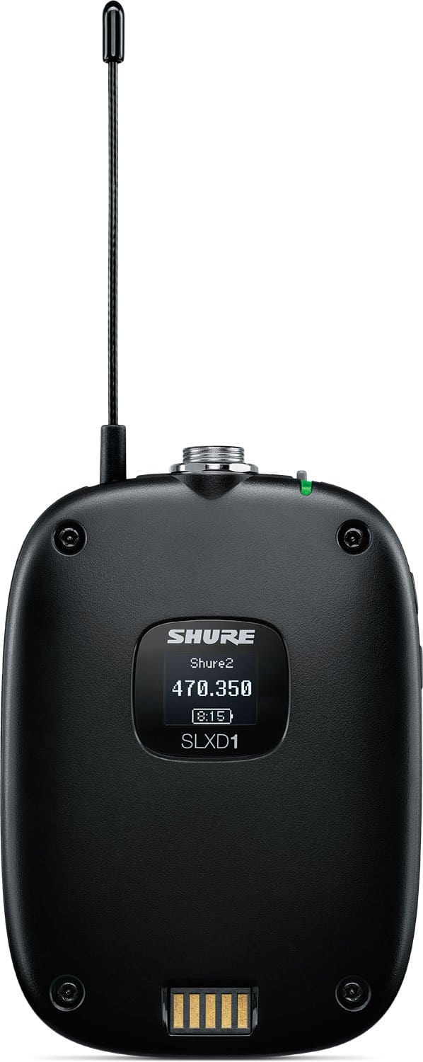 Shure SLXD1 Bodypack Transmitter (G58 Band) - PSSL ProSound and Stage Lighting