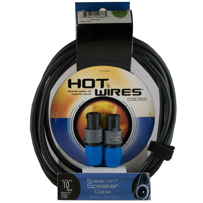 Hot Wires Tour Grade 25 Ft Speaker Cable Speakon to Speakon - PSSL ProSound and Stage Lighting