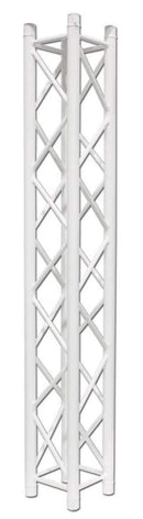 Global Truss SQ-4112 White Lighting Truss 12-Inch F34 6.56 Ft Segment - PSSL ProSound and Stage Lighting