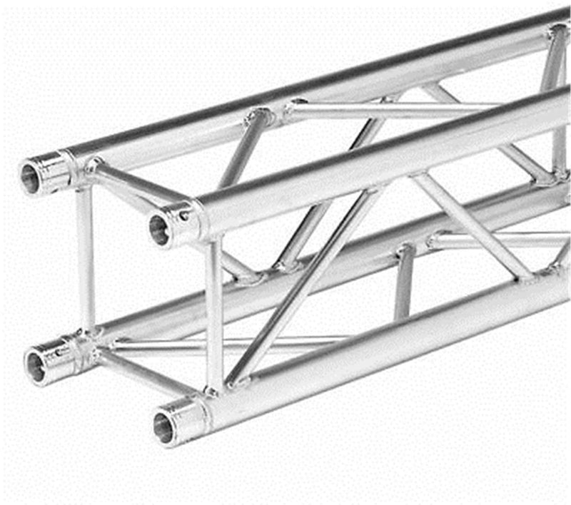 Global Truss SQ-4115 Square 12-Inch F34 Straight 11.48 Foot (3.5M) Segment - PSSL ProSound and Stage Lighting