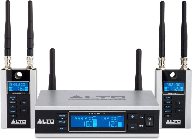 Alto Stealth Pro Wireless 2-Channel System for Active Loudspeakers - PSSL ProSound and Stage Lighting
