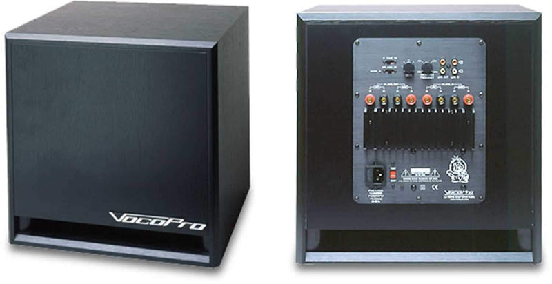 Vocopro SUB1200 12In Powered Subwoofer - PSSL ProSound and Stage Lighting