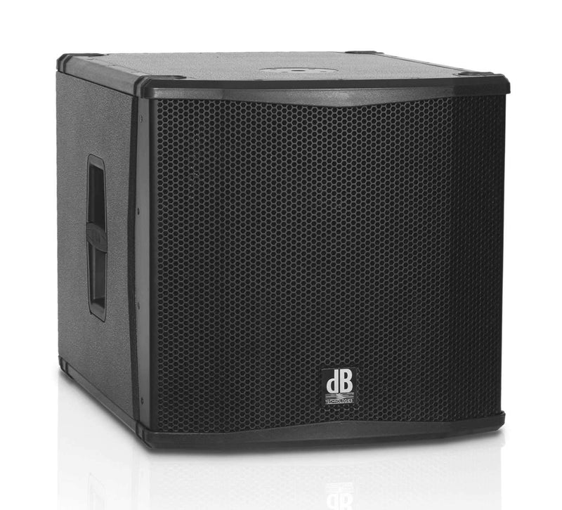 dB Technologies SUB-15-H 15-Inch Powered Subwoofer - PSSL ProSound and Stage Lighting