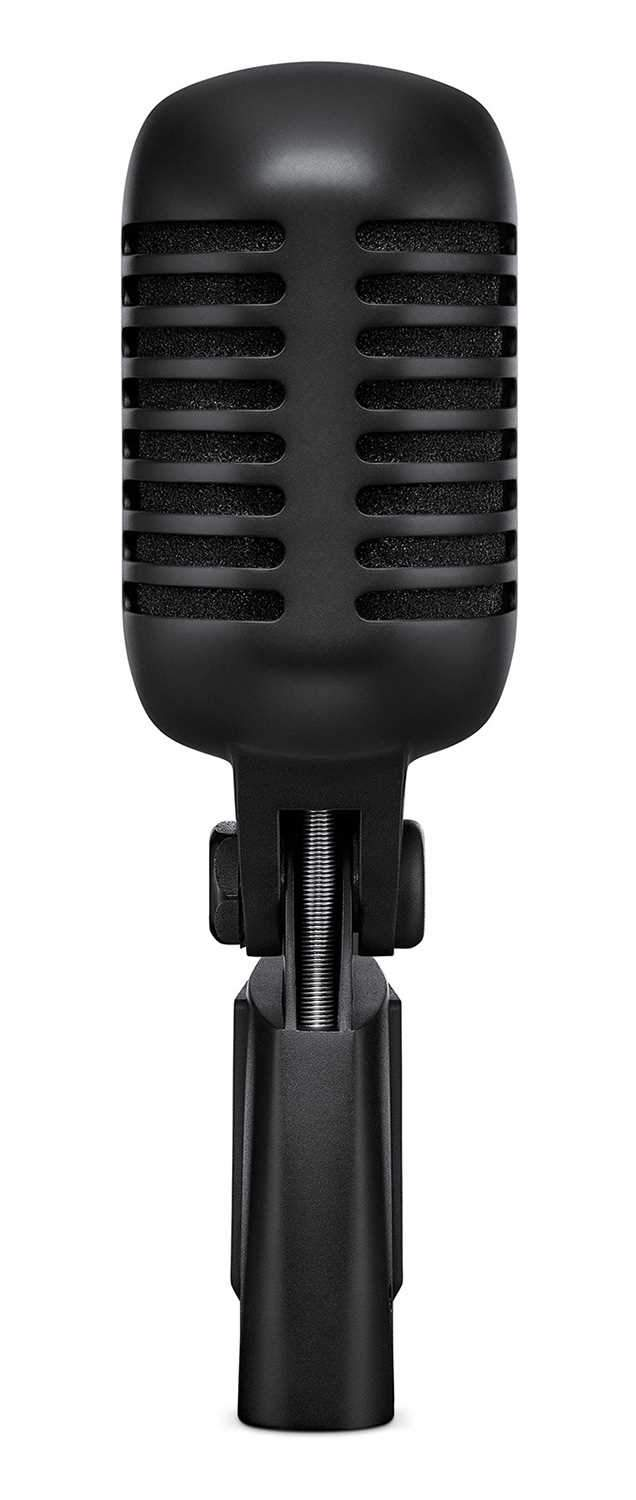 Shure Super 55-BLK Deluxe Vocal Mic Pitch Black - PSSL ProSound and Stage Lighting
