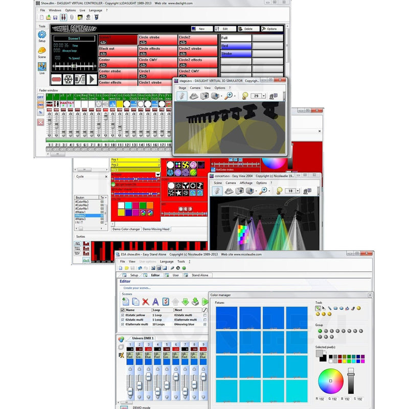 USB to DMX Interface with Lighting Control Software - PSSL ProSound and Stage Lighting