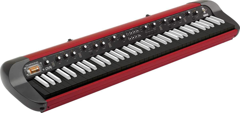 Korg SV1-73 73-Key Stage Vintage Piano - Red - PSSL ProSound and Stage Lighting