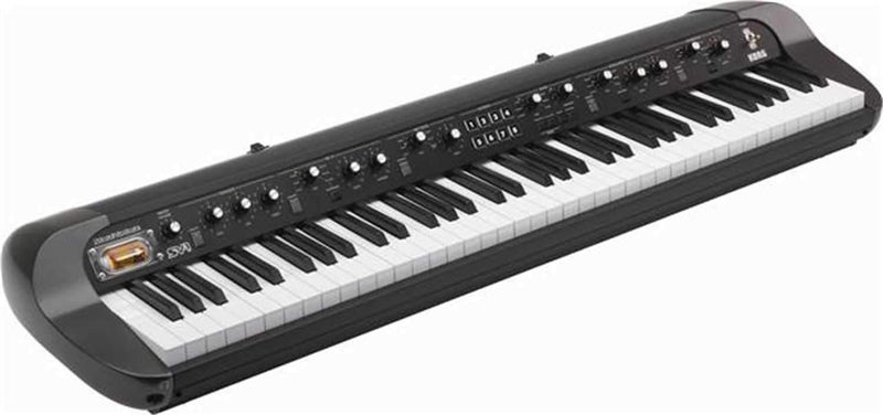 Korg SV1-73BK 73-Key Stage Vintage Piano (Black) - PSSL ProSound and Stage Lighting