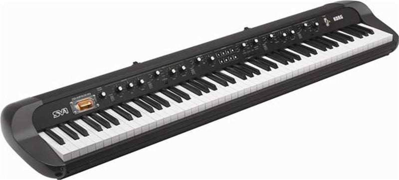 Korg SV1-88BK 88-Key Stage Vintage Piano (Black) - PSSL ProSound and Stage Lighting