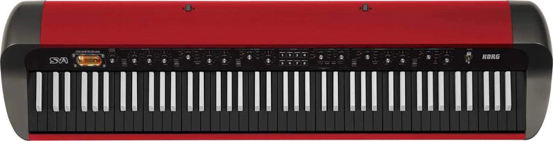 Korg SV1-88RV 88-Key Stage Vintage Piano (Red) - PSSL ProSound and Stage Lighting