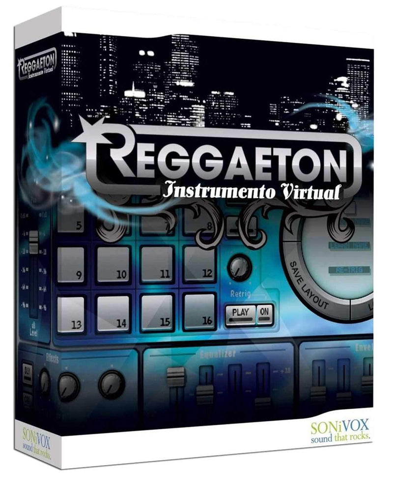 Sonivox Reggaeton Virtual Instrument - PSSL ProSound and Stage Lighting