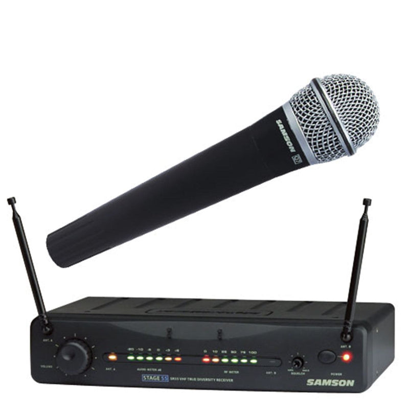 Samson SW55SH05 Wireless Handheld Mic System - PSSL ProSound and Stage Lighting