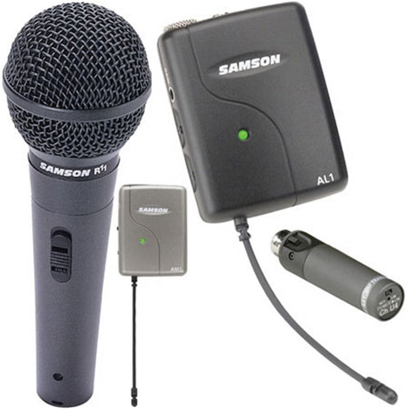 Samson SWAMSAL Micro Combination Microphone System - PSSL ProSound and Stage Lighting