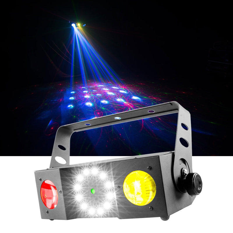 Chauvet Swarm 4 FX 3-in-1 Laser & LED Effect Light - PSSL ProSound and Stage Lighting