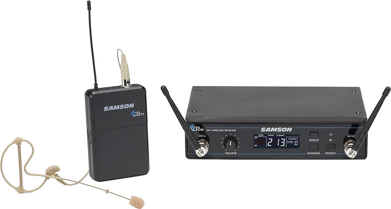 Samson Concert 99 Earset UHF Wireless Lavalier Microphone System - PSSL ProSound and Stage Lighting