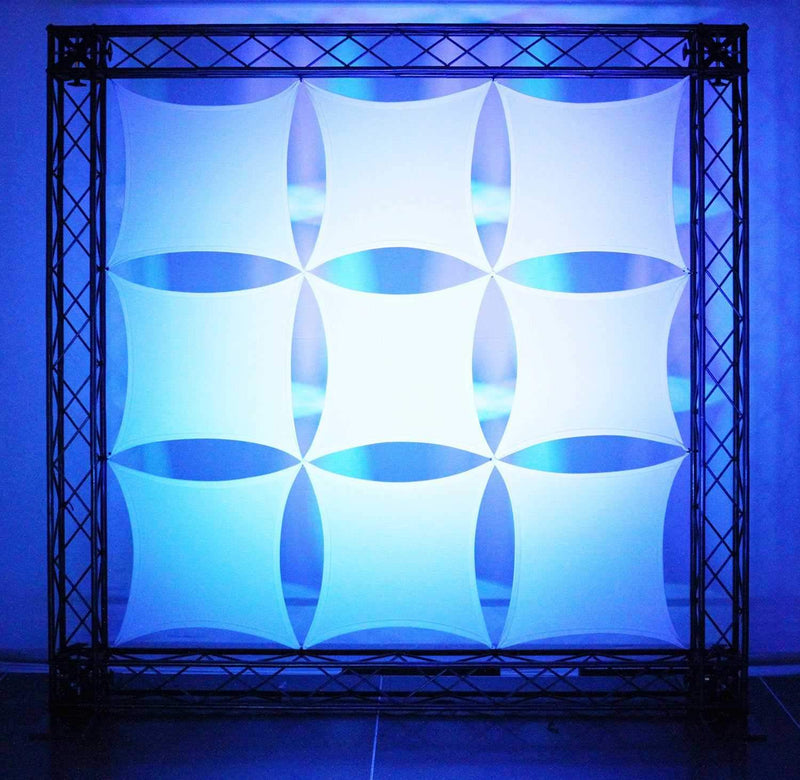 Odyssey Scrim Werks 18x18in Panel Display Set - PSSL ProSound and Stage Lighting