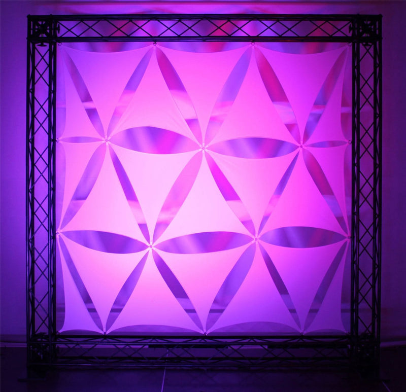 Odyssey Scrim Werks 19in Triangle Panel Display - PSSL ProSound and Stage Lighting