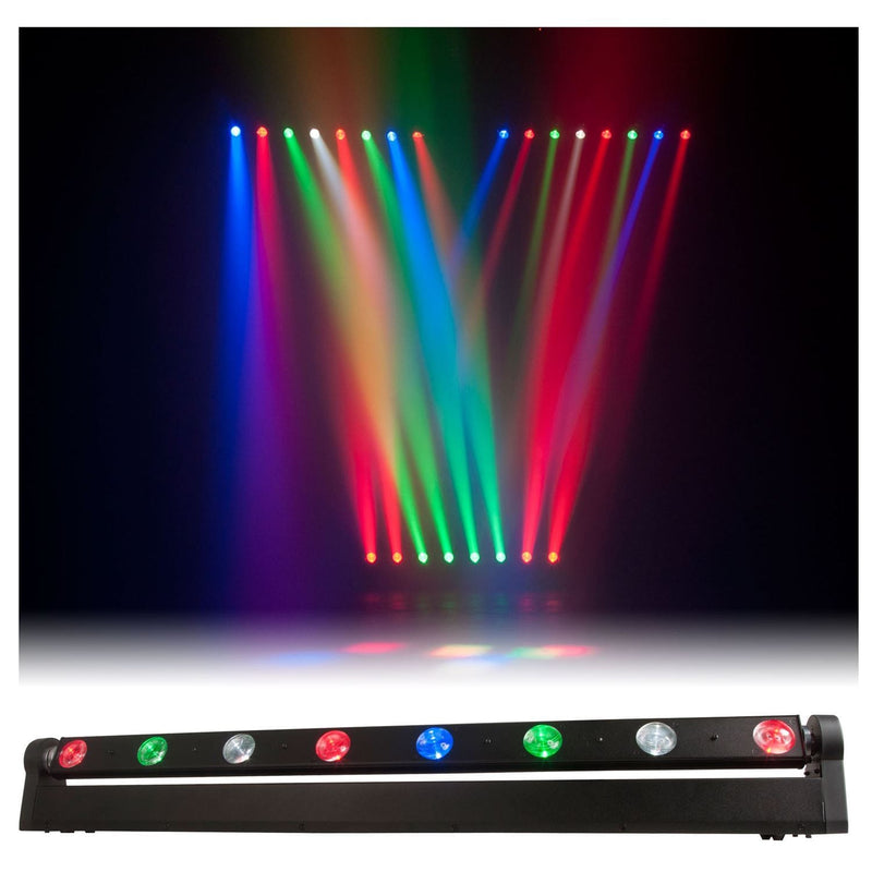 ADJ American DJ Sweeper Beam Quad LED Moving Light Bar - PSSL ProSound and Stage Lighting