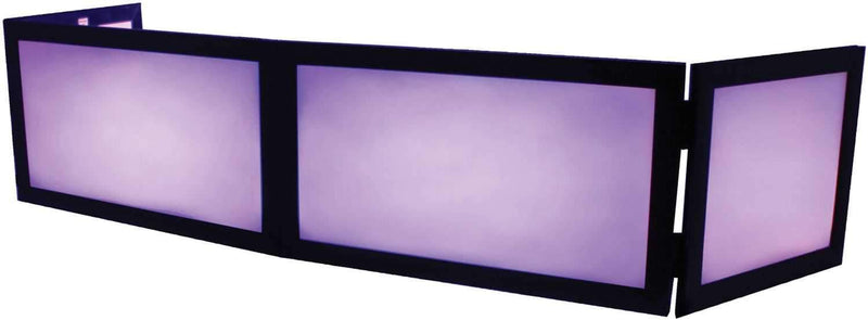 Odyssey SWFTT5816B 58 x 16 Table Top DJ Facade - PSSL ProSound and Stage Lighting