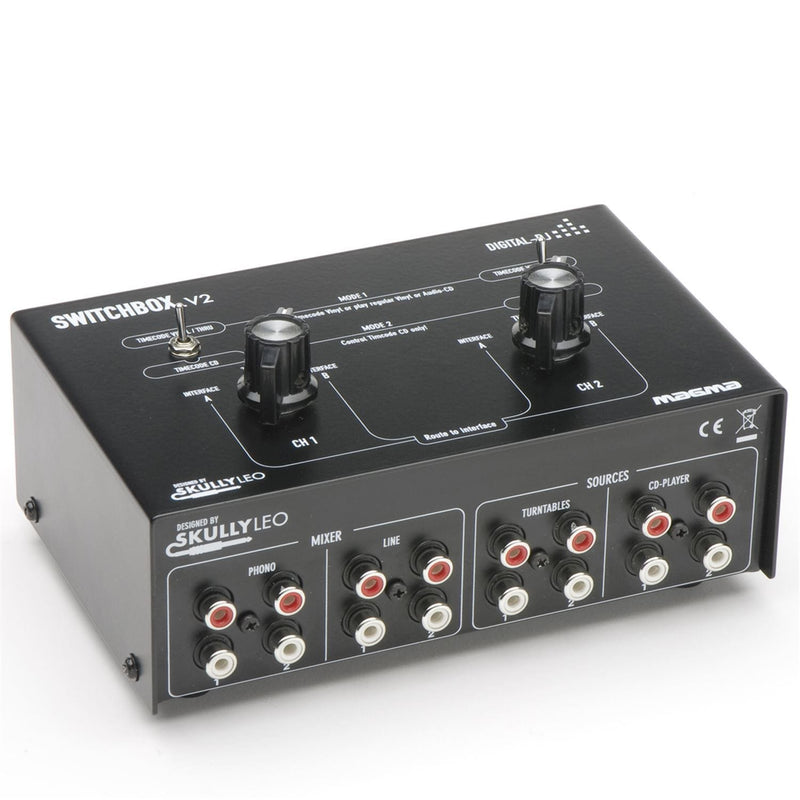 Magma SWITCHBOX20 Digital Dj Switchbox V2 - PSSL ProSound and Stage Lighting