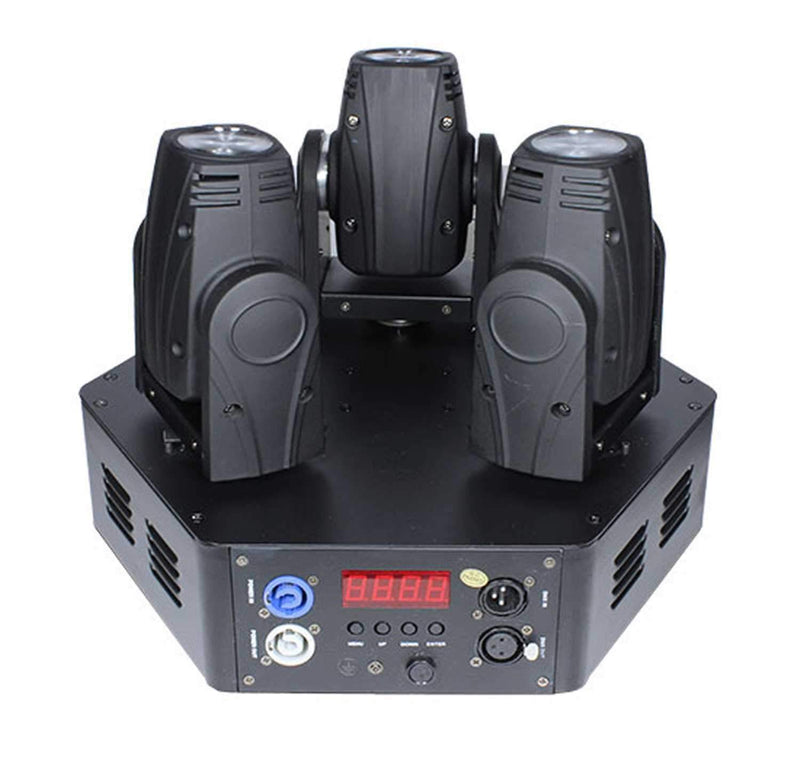 Blizzard SwitchBlade X3 Triple LED Moving Head Light - PSSL ProSound and Stage Lighting