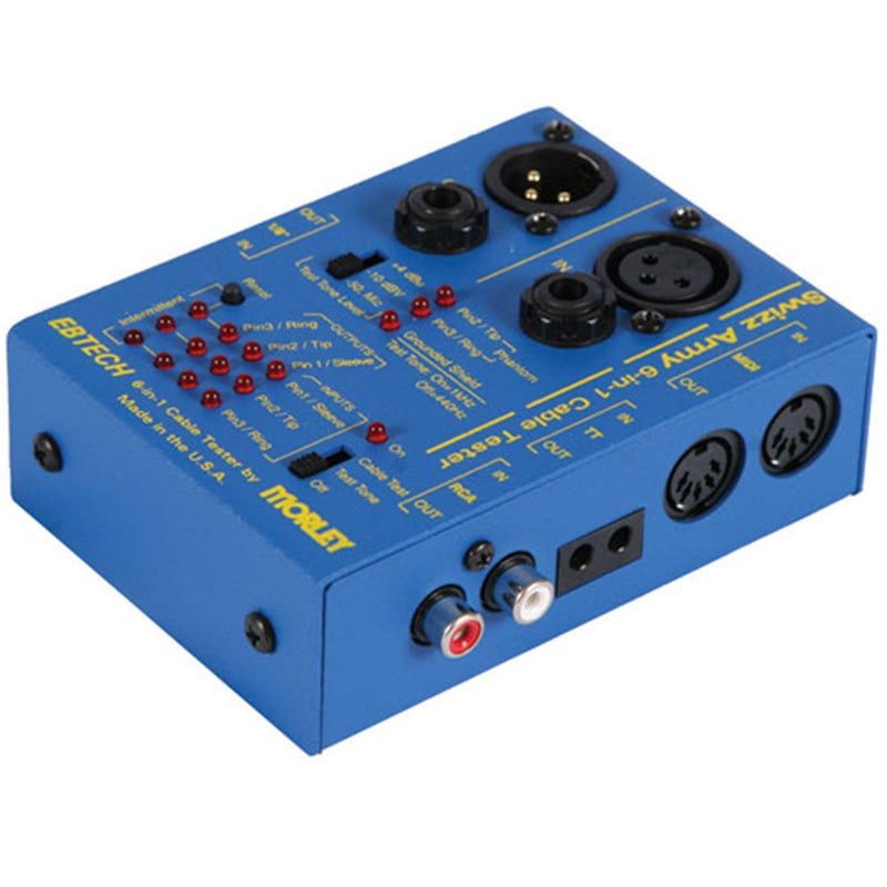 Ebtech SWIZZ Army Cable Tester - PSSL ProSound and Stage Lighting