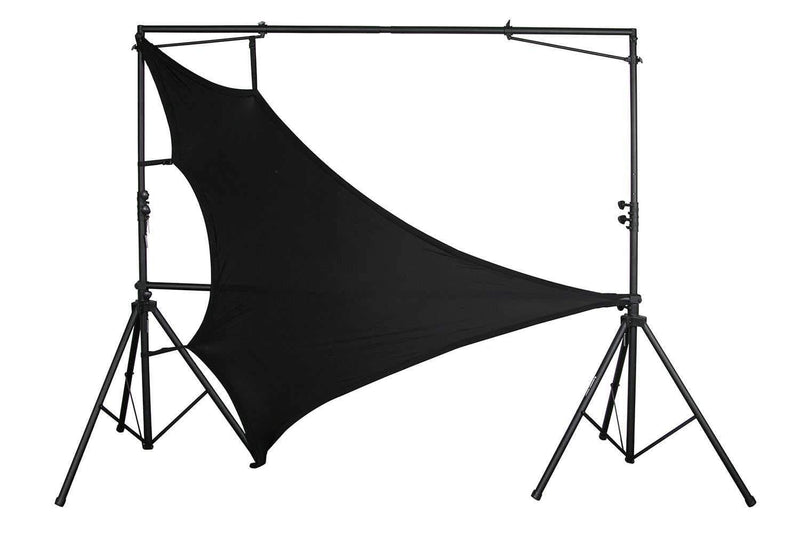 Odyssey Scrim Werks 60x88in Triangular Scrim Black - PSSL ProSound and Stage Lighting