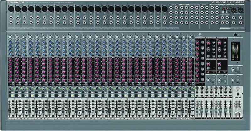 Behringer SX3282 8 Bus Mixer - PSSL ProSound and Stage Lighting