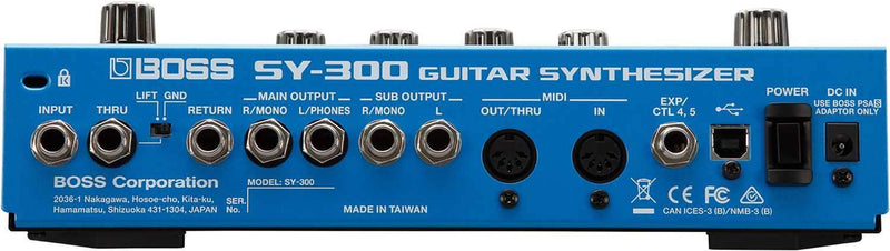 Boss SY-300 Guitar Synthesizer - PSSL ProSound and Stage Lighting