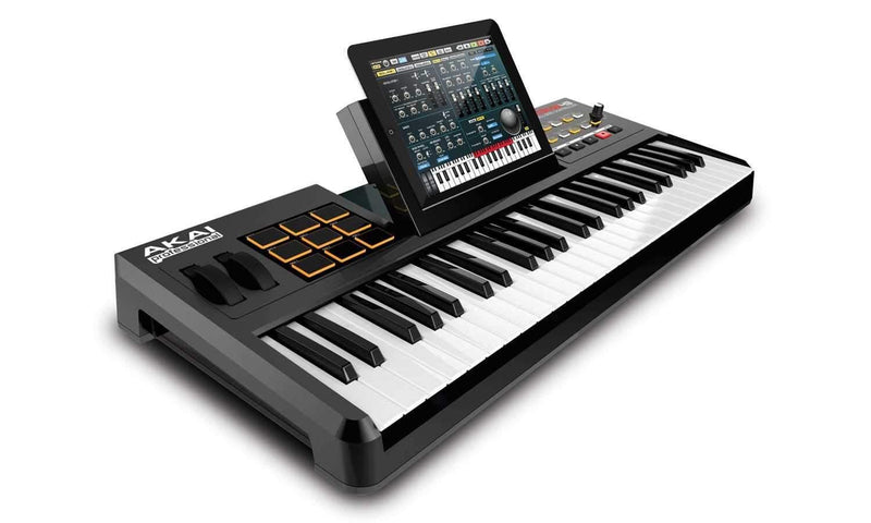 Akai SynthStation-49 49 Key iPad Controller - PSSL ProSound and Stage Lighting