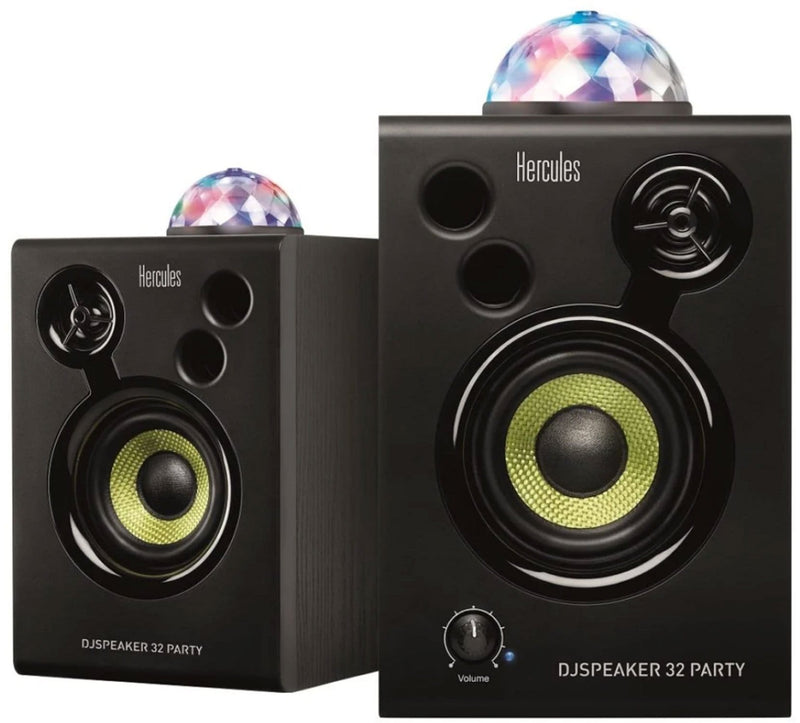 Hercules 3-Inch Monitors With Integrated Party Lights - PSSL ProSound and Stage Lighting