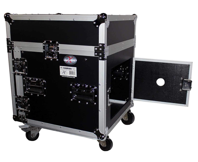 ProX T-10MRSS 10Ux10U Mixer DJ Combo Rack Case - PSSL ProSound and Stage Lighting