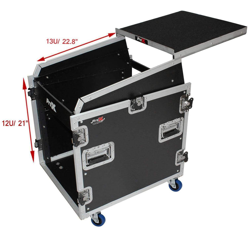 ProX T-12MRSS13ULT 12Ux13U Mixer DJ Combo Case - PSSL ProSound and Stage Lighting