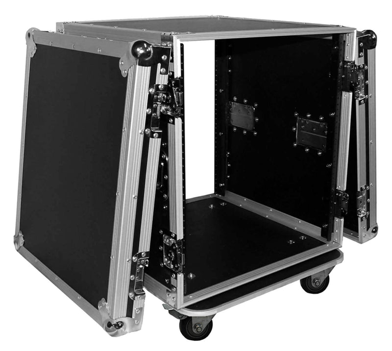 ProX T-12RSS 12-Space Amp Rack Case with Casters - PSSL ProSound and Stage Lighting