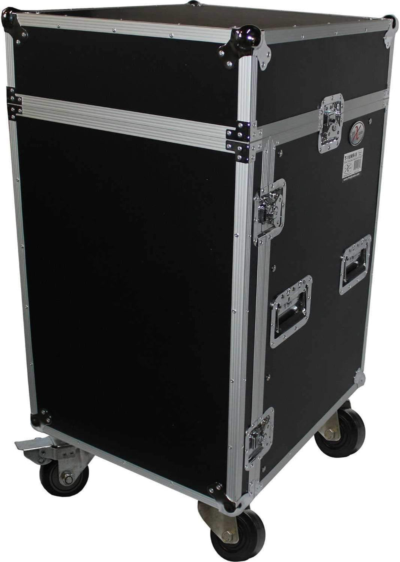 ProX T-16MRLT 16U x 10U Top Mixer Combo Rack Cas - PSSL ProSound and Stage Lighting