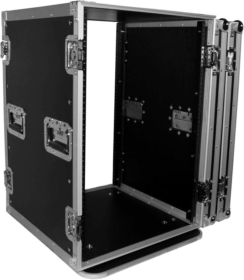 ProX T-16RSS 16U Amp Rack Mount ATA Flight Case - PSSL ProSound and Stage Lighting