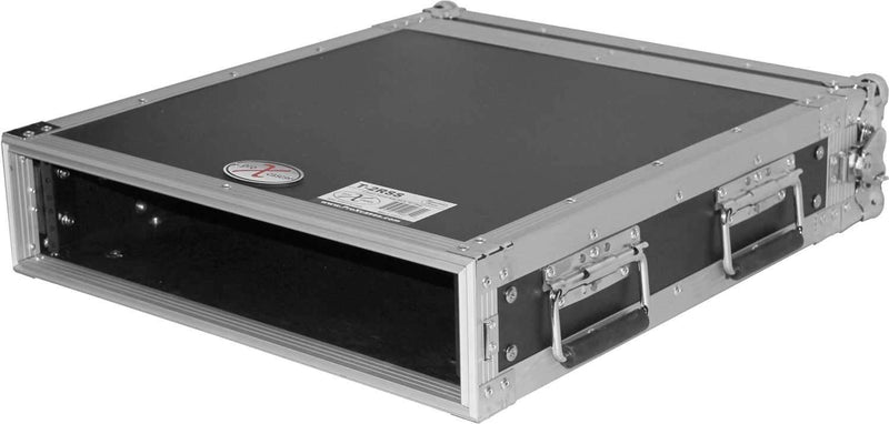 ProX T-2RSS 2U Amp Rack Mount ATA Flight Case - PSSL ProSound and Stage Lighting